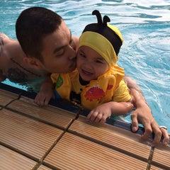 Photo taken at Pantai Mutiara Swimming Pool by May S. on 1/10/2015