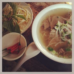 Photo taken at Pho Hung Vietnamese Restaurant by Kateřina H. on 2/13/2013