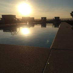 Photo taken at The Whitman Rooftop Pool by Joe C. on 6/20/2014