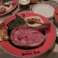 Photo taken at House of Prime Rib by Mark G. on 9/6/2013