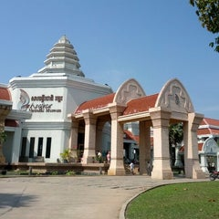 Photo taken at Angkor National Museum by Te on 1/4/2013