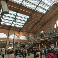 Photo taken at Gare SNCF de Paris Nord by Gares & Connexions on 7/25/2013