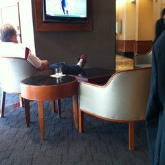 Photo taken at Delta Sky Club by Chris B. on 9/28/2012