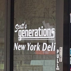 Photo taken at Scott's Generations Deli by lafinguy on 9/9/2014