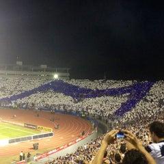 Photo taken at Estadio Tecnológico by Andrea B. on 5/3/2013