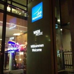 Photo taken at Suite Novotel Wien Messe by Dmitriy R. on 12/11/2012