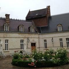Photo taken at Le Chateau De Ligny-en-Cambresis by Malcolm M. on 6/22/2013