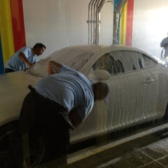 Photo taken at Premier Car Wash by Hope on 6/27/2013