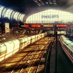 Photo taken at Hamburg Hauptbahnhof by Martin R. on 10/7/2012