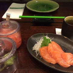 Photo taken at SushiGroove by Sonia A. on 8/18/2015