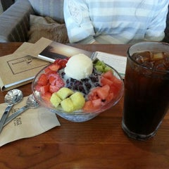 Photo taken at Caffe' muco by Jaewon H. on 5/19/2013