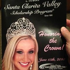 Photo taken at Santa Clarita Performing Arts Center by Tripp J. on 6/16/2013