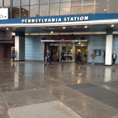 Photo taken at New York Penn Station by Damian C. on 11/7/2013