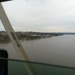 Photo taken at Fred Schwengel Memorial Bridge by Brian M. on 12/6/2012