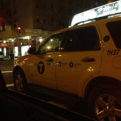 Photo taken at NYC Taxi Cab by Lea G. on 3/2/2013