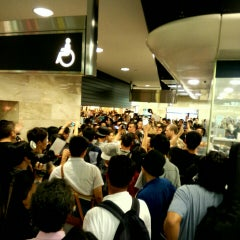 Photo taken at MTR Sha Tin Station 沙田站 by Fai L. on 10/3/2015