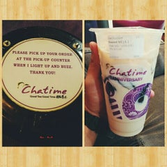 Photo taken at Chatime by Jesther L. on 6/13/2015