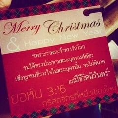 Photo taken at The First Church of Chiang Mai โบสถ์คริสตจักรที่ 1 เชียงใหม่ by Labiere B. on 12/24/2014