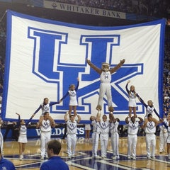 Photo taken at Rupp Arena by Katie H. on 11/22/2012