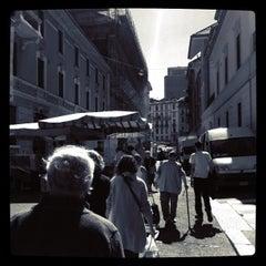 Photo taken at Mercato Isola by Mushin on 6/11/2013