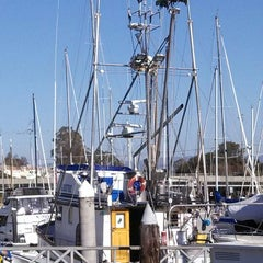 Photo taken at Santa Cruz West Harbor - Docks A-E by Morgan C. on 1/20/2014