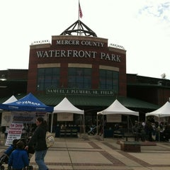 Photo taken at ARM & HAMMER Park by Aunt Theresa on 11/10/2012