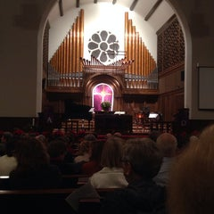Photo taken at First United Methodist Church by Kent F. on 12/2/2013