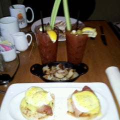 Photo taken at Toasted Oak Grill & Market by Jonathan L. on 12/31/2012