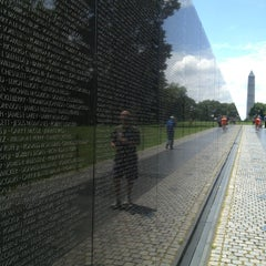 Photo taken at Vietnam Veterans Memorial by Andrew H. on 7/22/2013