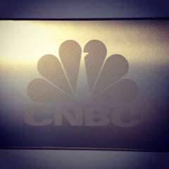 Photo taken at CNBC Headquarters by Renée S. on 5/6/2015