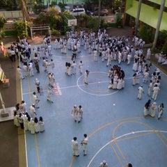 Photo taken at SMA Negeri 68 Jakarta by Fitri D. on 11/25/2013