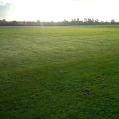 Photo taken at Royal Berkshire Polo Club by Michael T. on 11/18/2014