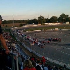 Photo taken at Toledo Speedway by Peter M. on 9/29/2012