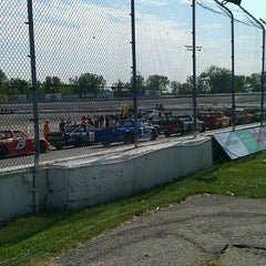 Photo taken at Toledo Speedway by Peter M. on 5/18/2013
