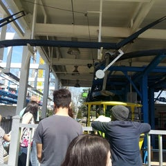 Photo taken at Skyway Cable Cars by Kishan Josef E. on 4/12/2014