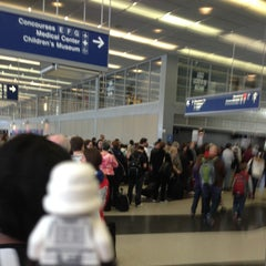 Photo taken at Terminal 3 Security Checkpoint by Brett S. on 4/28/2013