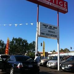 Photo taken at Prestige Auto Wash & Automotive by Conrad & Jenn R. on 9/16/2013