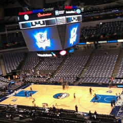 Photo taken at American Airlines Center by Jeff B. on 4/17/2013