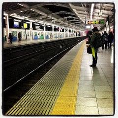 Photo taken at 西武新宿駅 (Seibu-Shinjuku Sta.) (SS01) by Nobuyuki K. on 12/30/2012