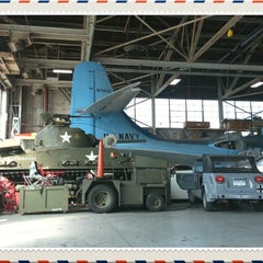 Photo taken at American Airpower Museum by Nicolas C. on 4/4/2013