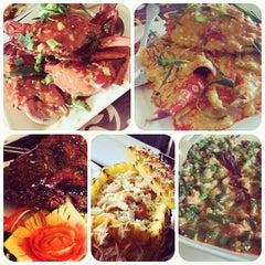Photo taken at Siam Thai Cuisine by Kristine Gianna R. on 9/29/2012