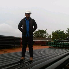 Photo taken at PT Hunting Energy Asia by Adhe R. on 3/15/2013