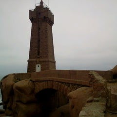 Photo taken at Phare de Ploumanac'h by Thierry M. on 2/27/2013