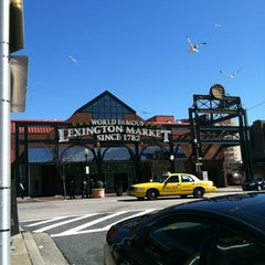 Photo taken at Lexington Market by mike l. on 3/9/2013
