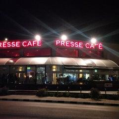 Photo taken at Presse Cafe Stavrou by Theodoros K. on 3/23/2014