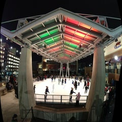 Photo taken at Silver Spring Ice Rink at Veterans Plaza by Mike L. on 12/25/2012