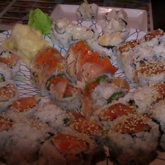 Photo taken at Fusion Sushi by Sara S. on 7/19/2013