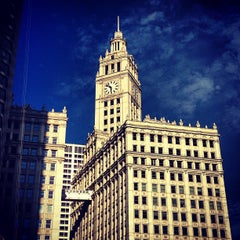 Photo taken at Wrigley Building by Kyle D. on 7/24/2013