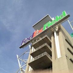 Photo taken at FedEx Field by John F. on 11/18/2012