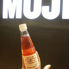 Photo taken at MUJI by Victor R. on 10/27/2014